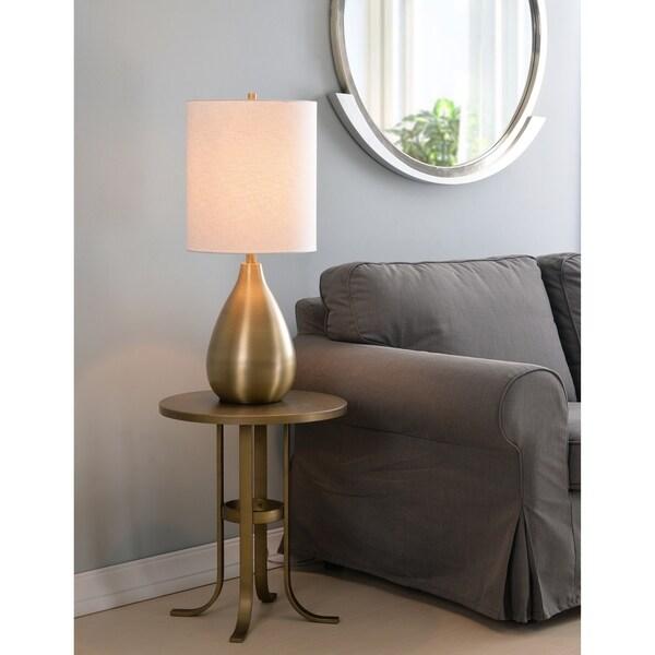 "Molson 29"" Table Lamp - Antique Brass"