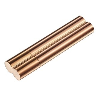 Visol Cigar and Flask Combo with a Rose Gold Finish