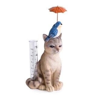 Cat and Bird Rain Gauge