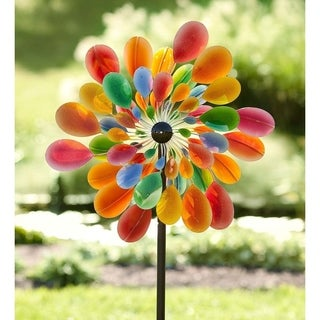 Confetti Paddle Garden Wind Spinner