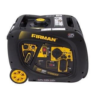 FIRMAN Power Equipment W03082 Gas Powered 3300/3000 Watt (Whisper Series) Extended Run Time Inverter Generator