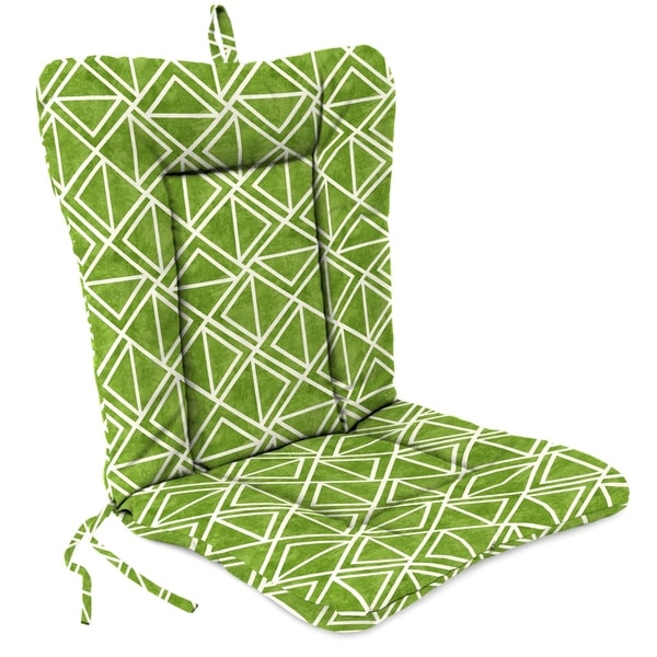 Jordan Manufacturing Outdoor 21 X 38 X 3 5 Euro Style Dining Chair Cushion 1 Pack Lanova Palm