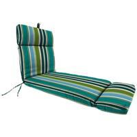 "Jordan Manufacturing Outdoor 22"" x 72"" x 4"" Chaise Cushion, 1-Pack,  Bella Capri"