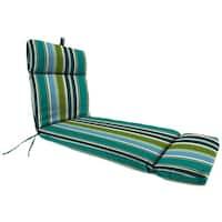 "Jordan Manufacturing Outdoor 19"" x 17"" x 2"" Seat Cushion, 1-Pack,  Bella Capri"