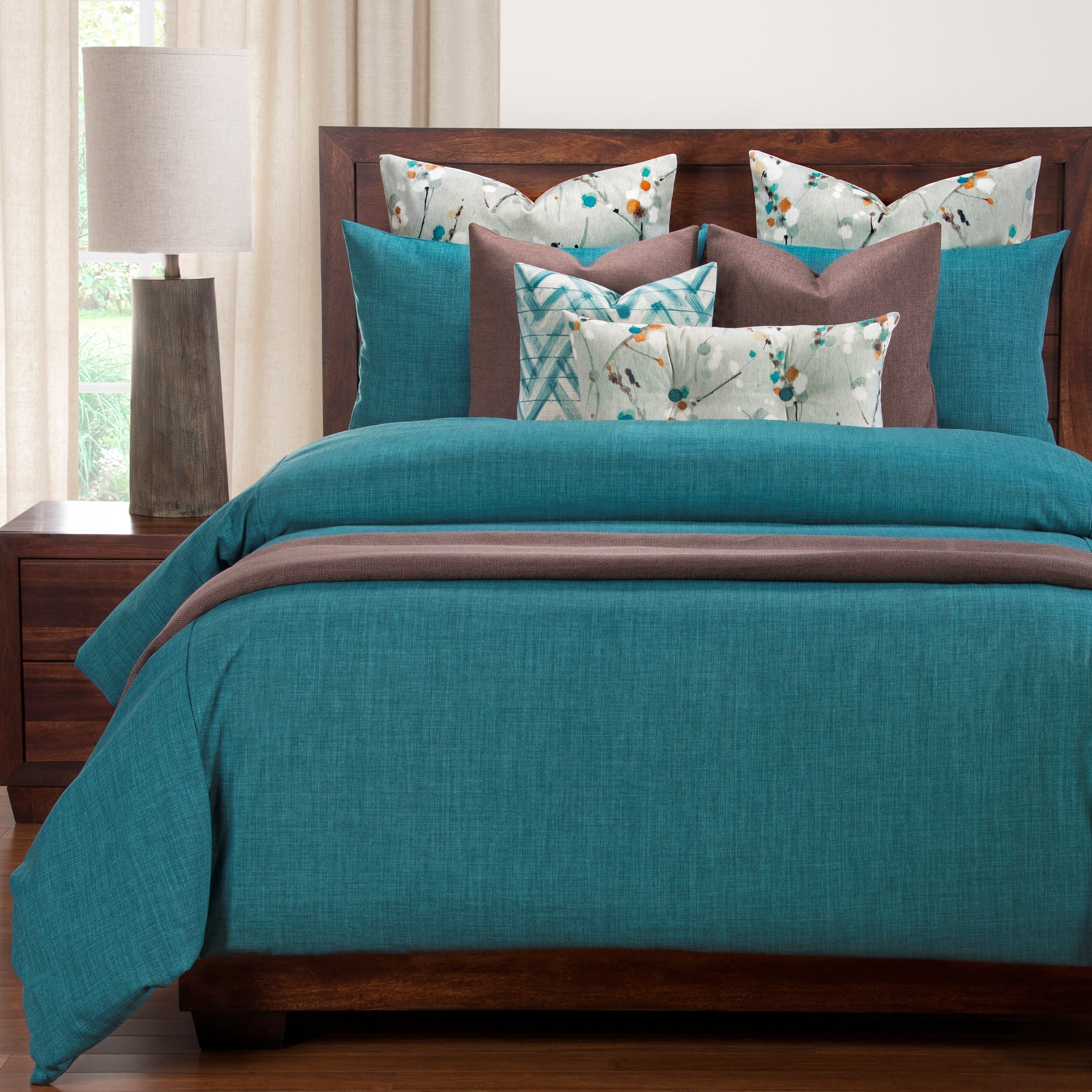 Shop Siscovers Memphis Teal 6 Piece Luxury Duvet And Comforter