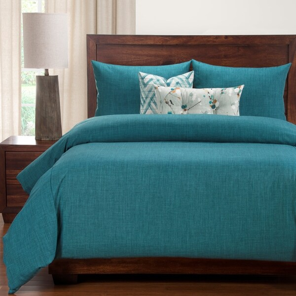 Siscovers Memphis Teal 6 Piece Luxury Duvet and Comforter Insert Set