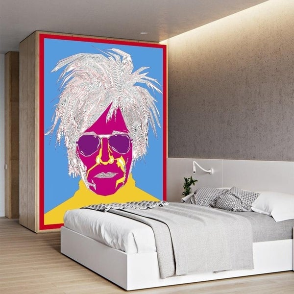 "Portrait Art Full Color Wall Decal Sticker AN-526 FRST Size 30""x47"""