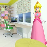 """Princess Kids Full Color Wall Decal Sticker AN-524 FRST Size 40""""x80"""""""
