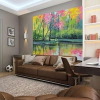 """Picture Land Full Color Wall Decal Sticker AN-545 FRST Size 52""""x80"""""""