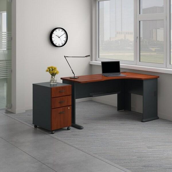 Shop Series A Right Corner Desk With Mobile File Cabinet