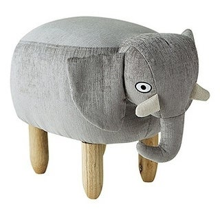 James - Gray Elephant - Seating Stool