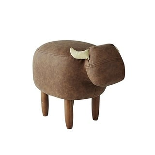 Marco - Brown Cow - Seating Stool