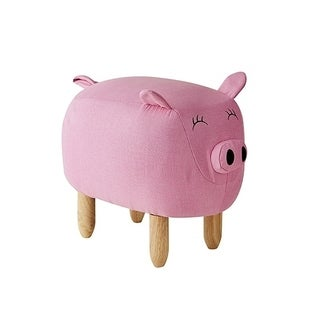 Claire - Pink Big Pig - Seating Stool