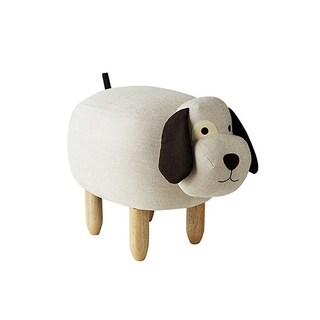 JoJo - Eye Patch Dog - Seating Stool
