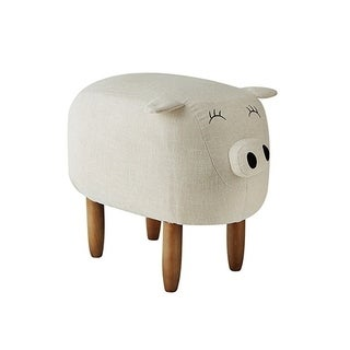 Suzie - Ivory Big Pig - Seating Stool