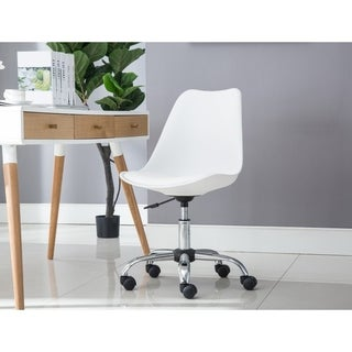 Porthos Home Adjustable Height Cushioned Seat Office Desk Chair (3 options available)