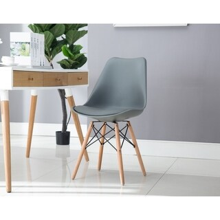 Porthos Home Midcentury Modern Dining Chair with Cushion,Easy Assembly