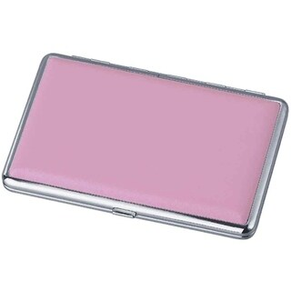 Visol Candi Pink Leather Double Sided Cigarette Case