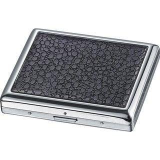 Visol Terea Stainless Steel Regular Cigarette Case - Holds 18