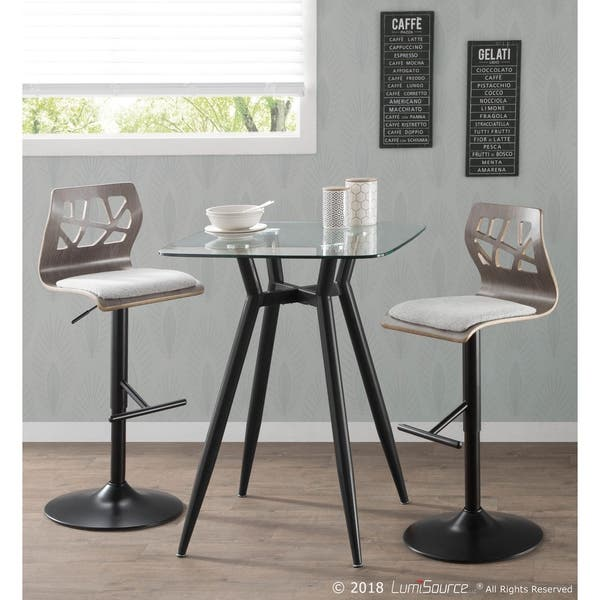 Astounding Shop Carson Carrington Sala Light Grey Wood Adjustable Bar Caraccident5 Cool Chair Designs And Ideas Caraccident5Info