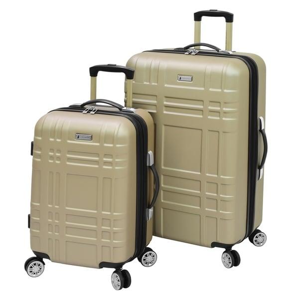 1c767e1464777 Shop London Fog Hardside Spinner 2-Piece Luggage Set - 28 x 20 x 11 ...