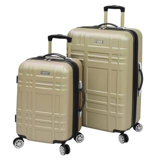 Shop London Fog Hardside Spinner 2 Piece Luggage Set On