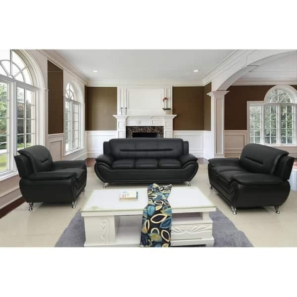 Amazing Shop Michael Segura 3Pc Living Room Set Free Shipping Theyellowbook Wood Chair Design Ideas Theyellowbookinfo