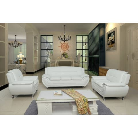 Buy Off-White Living Room Furniture Sets Online at Overstock | Our ...