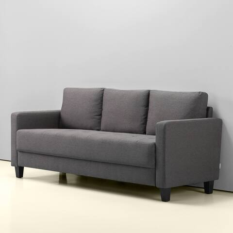 Priage by Zinus Modern Sofa, Steel Grey