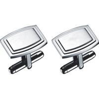 Visol Capri Stainless Steel Cufflinks