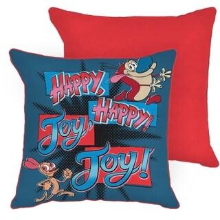 Nickelodeon Nick 90's/Splat Happy Joy Burst Decorative Throw Pillow