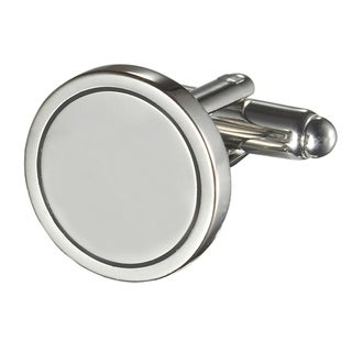 New - Visol Dantes Silver Plated Cufflinks