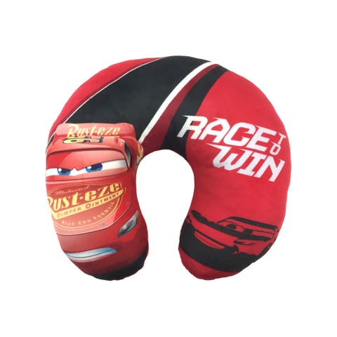 Disney/Pixar Cars 3 Race To Win Travel Neck Pillow