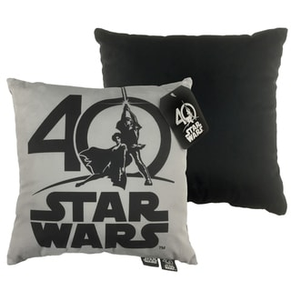 Star Wars 40th Logo Decorative Throw Pillow