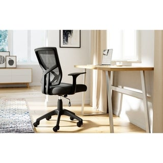 Serta Essential Hartford Mesh Office Chair with Nylon Base