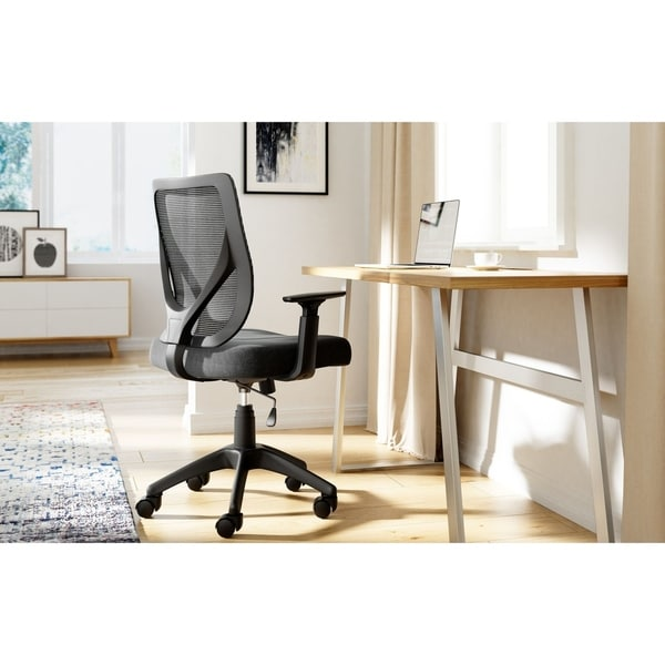Serta Works Production Mesh Office Chair with Nylon Base
