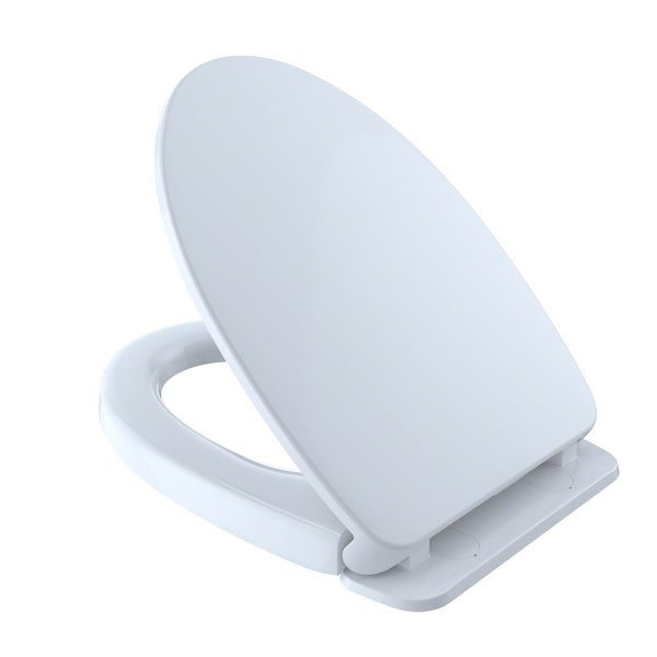 Brilliant Toto Softclose Non Slamming Slow Close Elongated Toilet Seat And Lid Cotton White Ss12401 Beatyapartments Chair Design Images Beatyapartmentscom