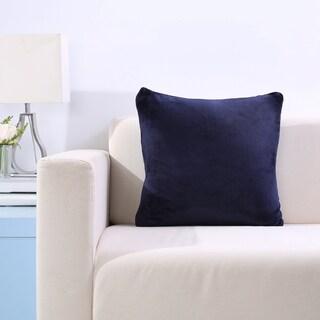 VelvetLoft Decorative Plush Throw Pillow