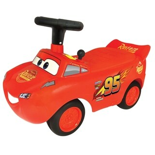 Kiddieland Disney PIXAR Cars3 Lightning McQueen Light & Sound Racer Activity Ride-On