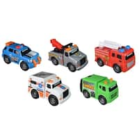 Road Rippers Mini City Service Mini Vehcles (5 Pack)
