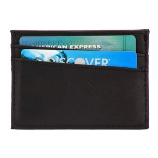 The Force RFID Blocking 100% Leather Card Holder