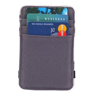 The Scholar RFID Blocking Canvas Magic Card Holder & Wallet