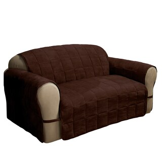 Ultimate Faux Suede Loveseat Furniture Protector Slipcover (More options available)
