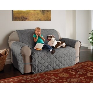 Innovative Textile Solutions Microfiber Ultimate Loveseat Furniture Protector