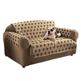 Innovative Textile Solutions Paw Prints Sofa Slipcover
