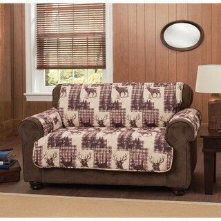 Woodlands Loveseat Furniture Protector Slipcover
