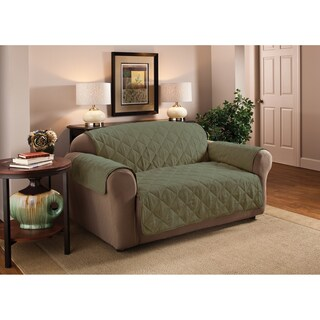 Innovative Textile Solutions Solid Faux Suede Sofa Furniture Protector