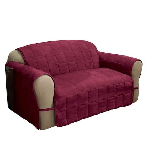 ITS Faux Suede XL Sofa Furniture Protector - xl sofa - xl sofa