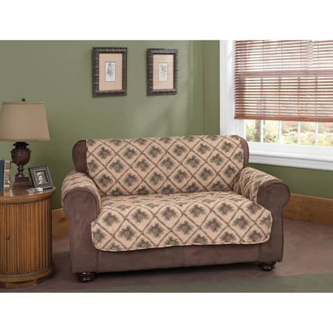 Innovative Textile Solutions Pine Cones Loveseat Furniture Protector