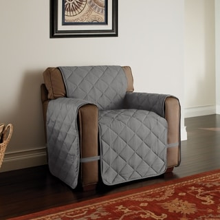 Innovative Textile Solutions Microfiber Ultimate Chair Furniture Protector (Grey)